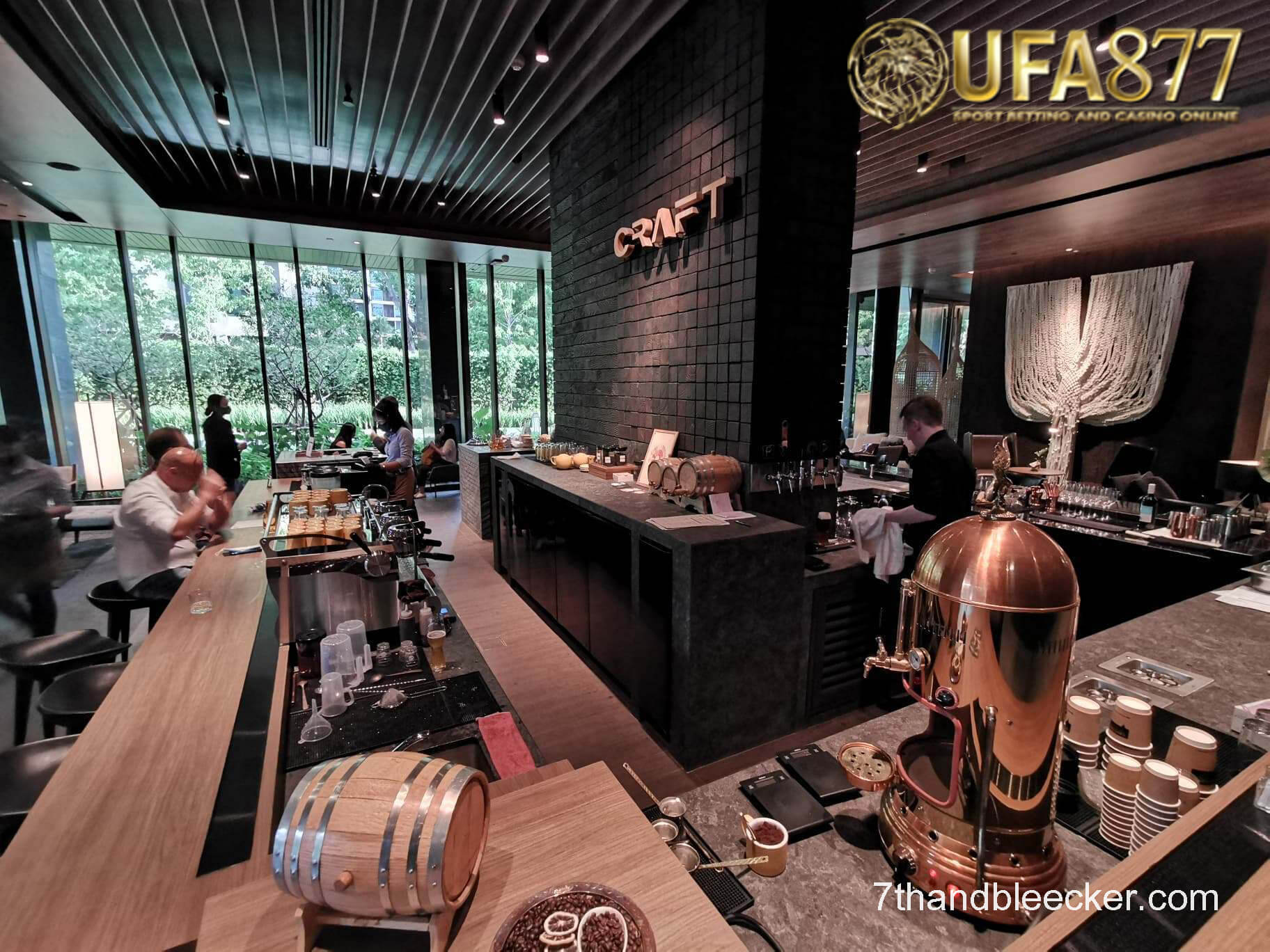 CRAFT ร้านอาหารย่านกรุงเทพ พร้อมบรรยากาศสุดเจ๋ง
