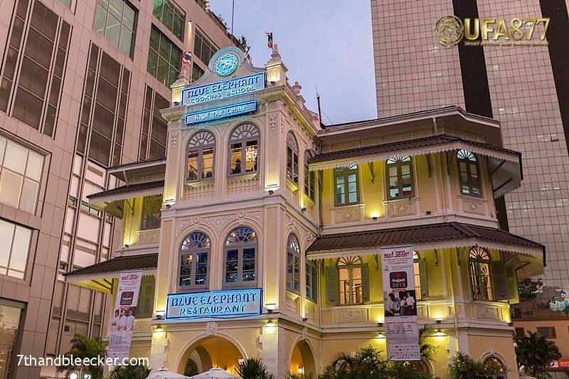 Blue Elephant ร้านอาหารไทยที่น่าตื่นตาตื่นใจนรสชาติ และ การจัดตกแต่งจาน